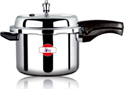 Apex Popular 5 L Pressure Cooker (Induction Bottom, Aluminium)