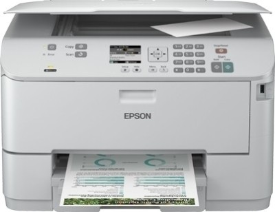 Epson - WorkForce Pro WP-4511 Multi-function Inkjet Printer White