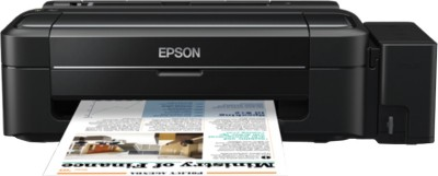 Epson - L300 Single Function Inkjet Printer Black
