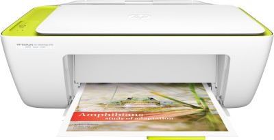 HP DeskJet Ink Advantage 2135 All-in-One Printer (White)