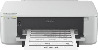Epson - K100 Single Function Inkjet Printer White