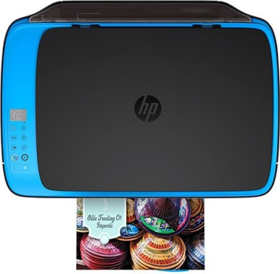 HP DeskJet Ink Advantage Ultra 4729 Multi-function Printer (Black and Blue)