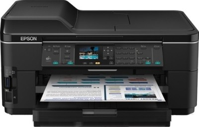 Epson - WorkForce WF-7511 Multi-function Inkjet Printer Black