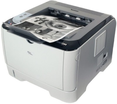 Ricoh - Aficio SP 300DN Duplex Networking Single Function Laser Printer (Black & White)