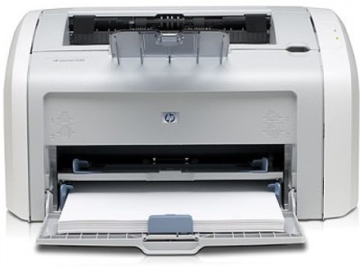 HP 1020 Plus Single Function Printer (White)