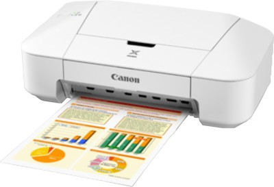 Canon iP2870 Single Function Inkjet Printer (White)