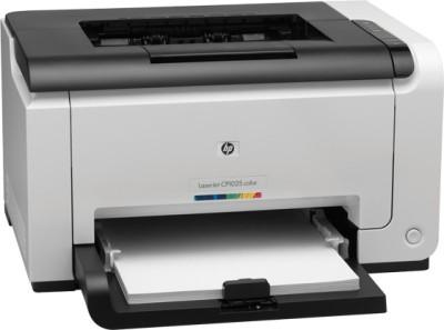 HP LaserJet CP1025 Single Function Printer (White)