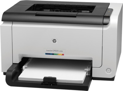 HP LaserJet CP1025 Single Function Printer (White)
