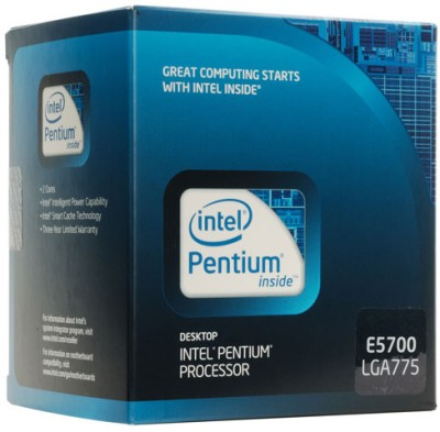 Buy Intel 3 GHz LGA 775 Dual Core E5700 Processor: Processor