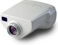 Wonder World ® Mini Home Cinema Theater HD1080P Portable Projector (White)