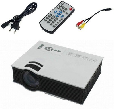 Unic UC40 Portable Projector (White)