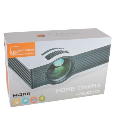 Speed UC 40 800 lm LED Corded Portable Projector (Grey, Black)