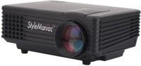 Style Maniac X Series 800 Lm LED Corded Portable Projector (Black)