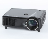 Zaicus TV Projector LCD Video With HDMI USB Home Theate Portable Projector (Black)