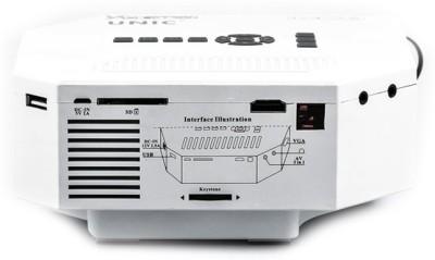 Zakk Portable UC 30 Portable Projector (White)