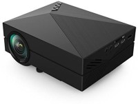 Zaicus Original 1000 Lumens HDMI USB VGA TV Home Theater Portable Projector (Black)