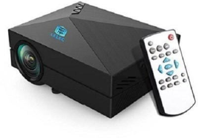 Teledealz Brand GM 60 Full HD LED Projector Portable Projector (Black)