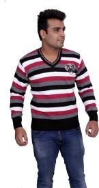 Marino Club V-neck Solid Men's Pullover