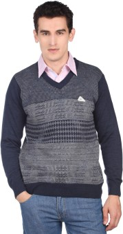 Monte Carlo V-neck Men's Pullover - PLODDDHH7QSJ7HQP