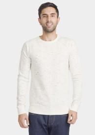 Bhane Round Neck Solid Men's Pullover