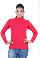 Renka Round Neck Solid Women's Pullover - PLODZYXFHAGPPWTS