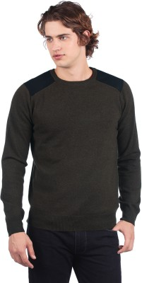 Buy French Connection Round Neck Solid Men's Pullover: Pullover