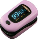 Newnik PX701 Audio-Visual Fingertip - Pink Pulse Oximeter - Pink