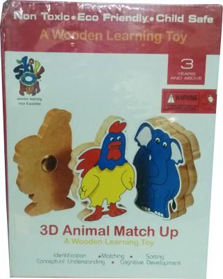 Skillofun Skillofun 3D Animal Matchup Puzzle