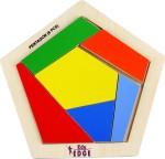 EDUEDGE Puzzles EDUEDGE Let'S Complete Picture Pentagon