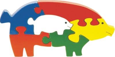 Skillofun Skillofun Take Apart Puzzle Pig