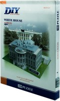 Duiken 3D Puzzle - The White House (65 Pieces)