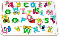 Wood O Plast Wood O Plast English Alphabets With Pictures (26 Pieces)
