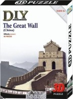 Duiken 3D Puzzle - The Great Wall (48 Pieces)