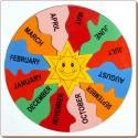 Little Genius Jigsaw Month's Puzzle - 13 Pieces