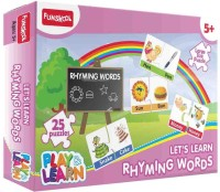 Funskool Funskool Multicoloured Play & Learn Rhyming Words Puzzle For Boys N Girls (25 Pieces)