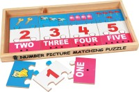 Skillofun Skillofun Number Picture Matching Strips