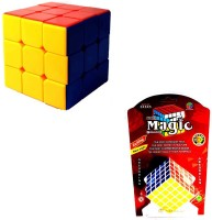 Sunny Cubes Original Stickerless Cube And 5*5 Combo (2 Pieces)
