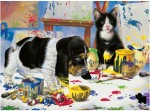 Ravensburger Puzzles Ravensburger Playing in Paint