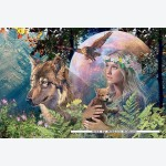 Ravensburger Puzzles Ravensburger Lady of the Forest
