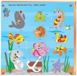 Skillofun Puzzles Skillofun Skillofun King Size Identification Tray Water Animals