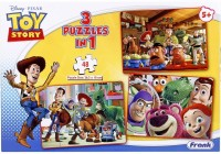 Frank Toy Story 3 In 1 Puzzle (48 Pieces)