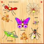 Kinder Creative Puzzles Kinder Creative Junior Insects with Knobs