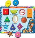 Prasima Toys Hapes And Colours Puzzle - 10 Pieces