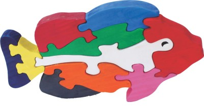 Enigmatic Woodworks Puzzles Enigmatic Woodworks Wooden Jigsaw Puzzle Big Fish