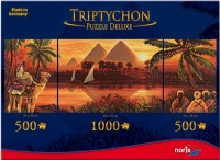 Noris Tript. Puzzle 2000 Pcs Pyramids (2000 Pieces)