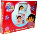 Funskool Nickelodeon Dora 2-in-1 Puzzles - 30 Pieces