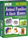 Creative's Animal Families & Their Homes - 63 Pieces