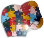 DCS Puzzles DCS Elephant Wooden Puzzle