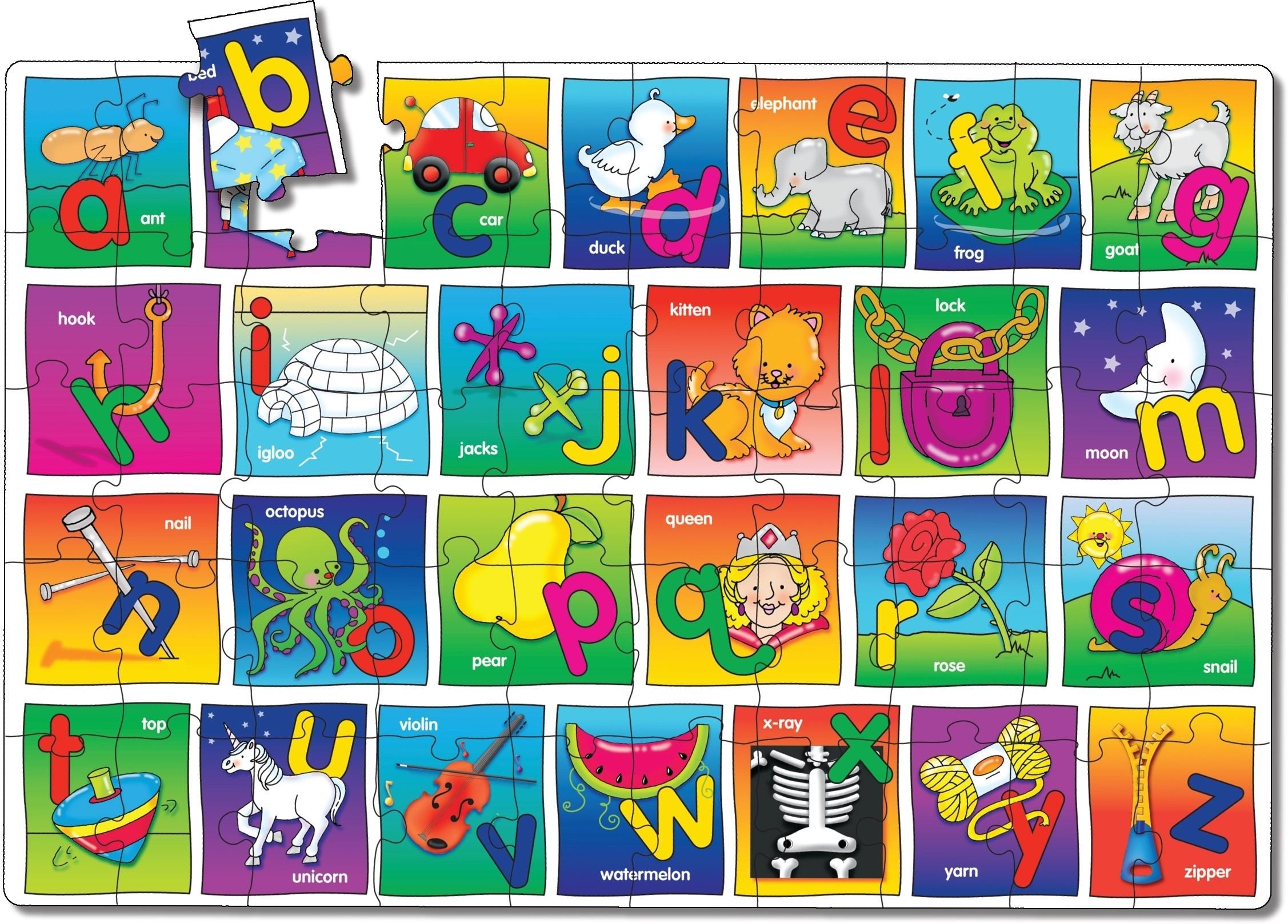 Learning The Alphabet. Let 39 S Learn The Alphabet Preschool ...