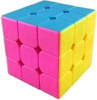 Krypton Moyu YJ Stickerless Red Mini Along 3x3x3 Speed Cube (1 Pieces)